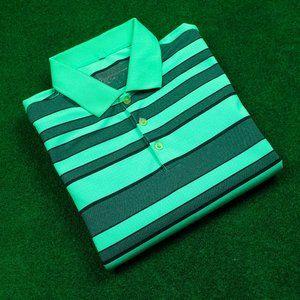 Nike Golf DRI-FIT Multi Green Striped Polo